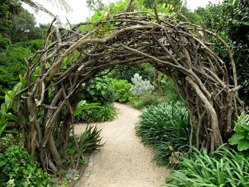 Florawereld com tuin idee for Garden archway designs