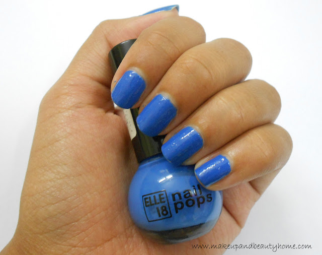 Elle 18 Nail Pops Nail Enamel Shade 65 Review, Photos, NOTD - Makeup And Beauty Home