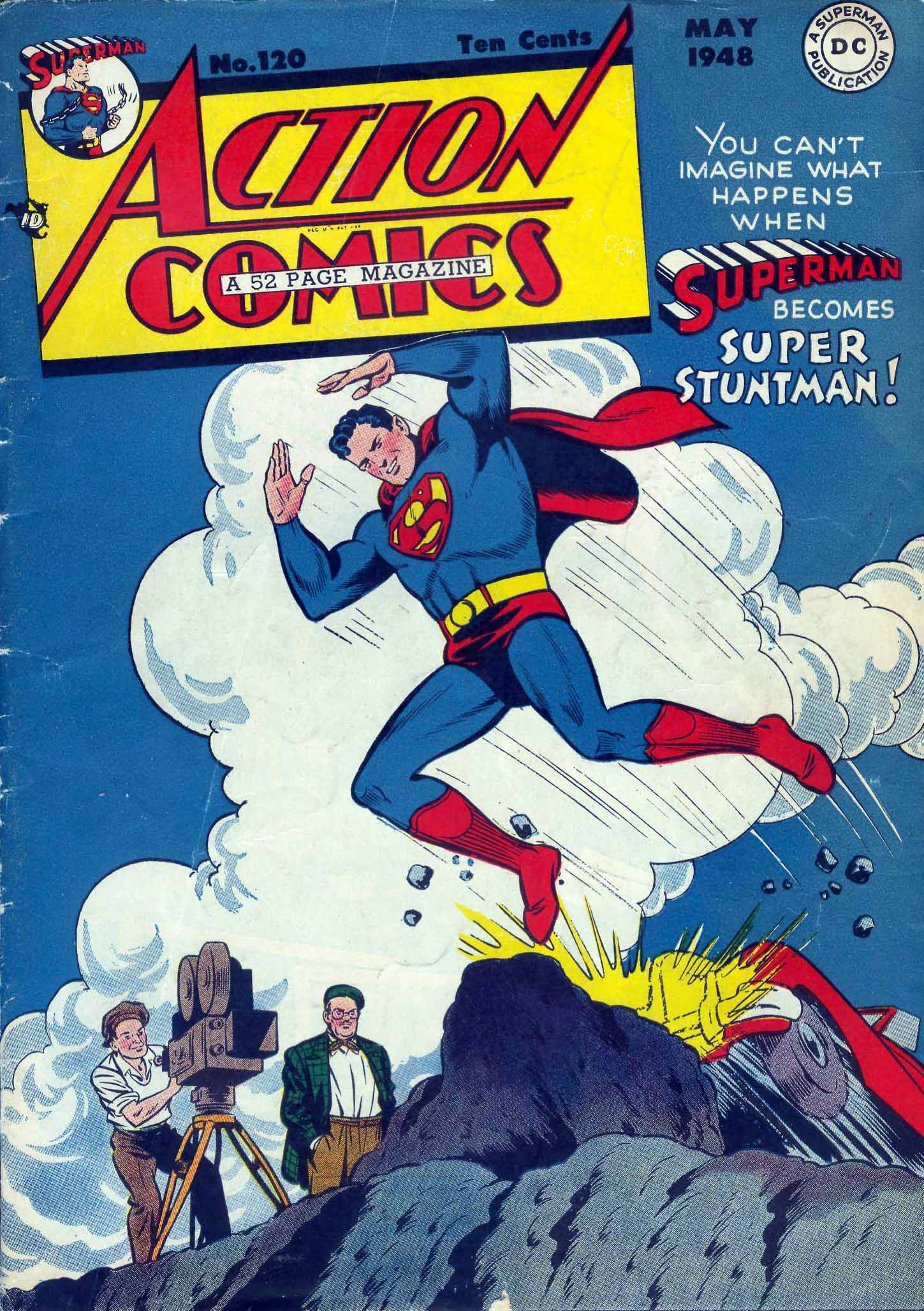 Action Comics (1938) 120 Page 1