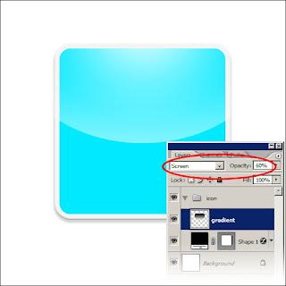 Desain Icon Glossy