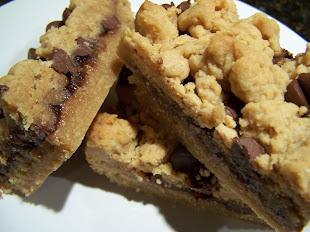 Chocolate Chip PB&J Bars