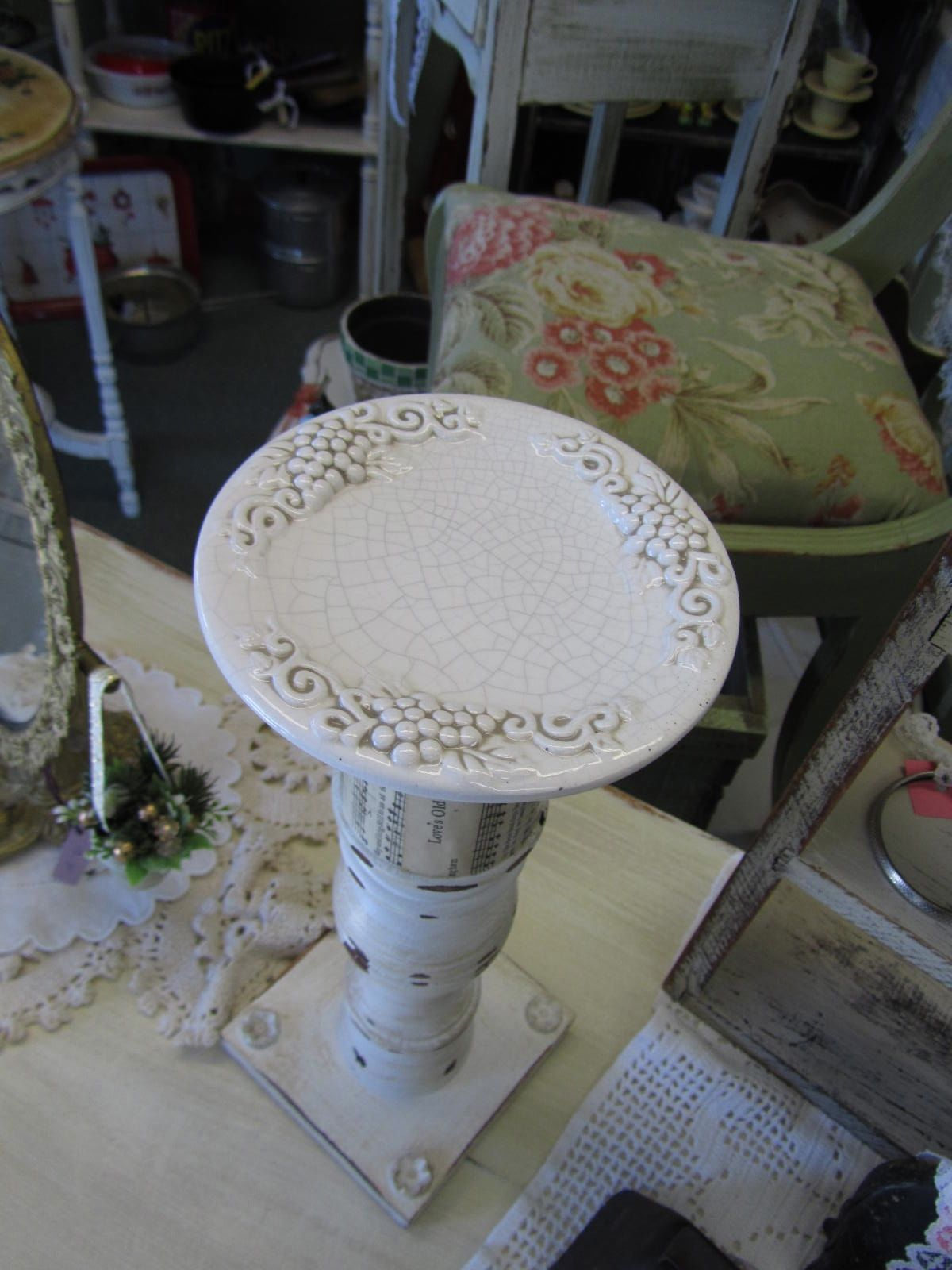 Rustique The Rehab Boutique Pillar Candle Holders
