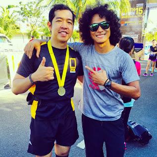 Runner Rocky and RunRio