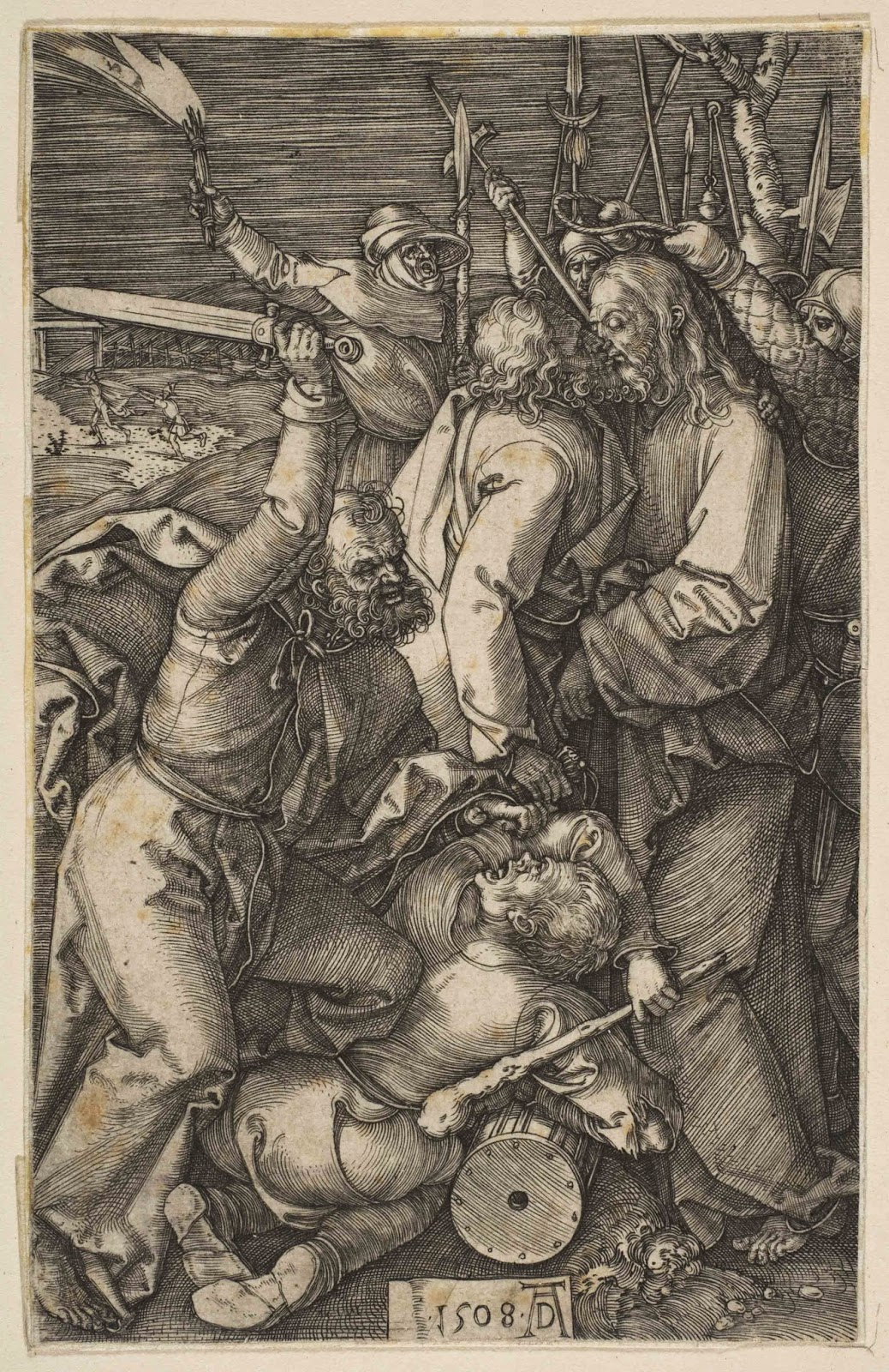art artists albrecht d atilde frac rer part  1508 betrayal of christ from the passion engraving metropolitan museum of art new york