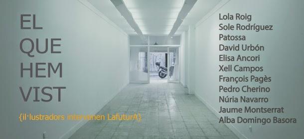 http://lafutura.wordpress.com/2014/07/11/el-que-hem-vist-%C2%B7-il-lustradors-intervenen-lafutura/