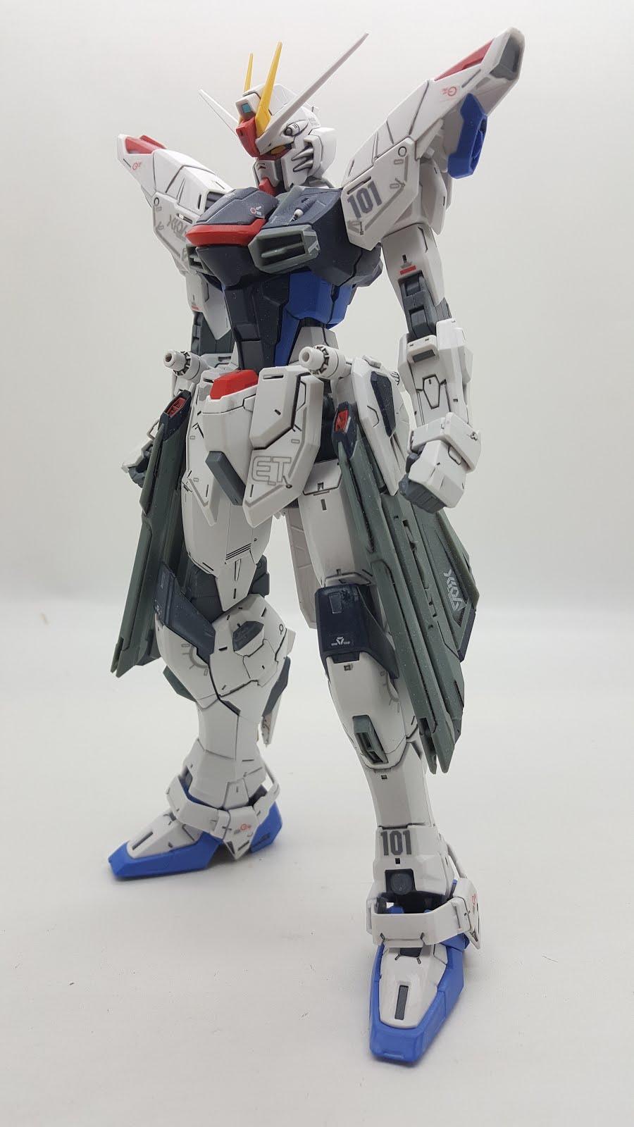 Mg 1 100 Scaled Freedom Gundam 2 0 Review Gundam My Blog