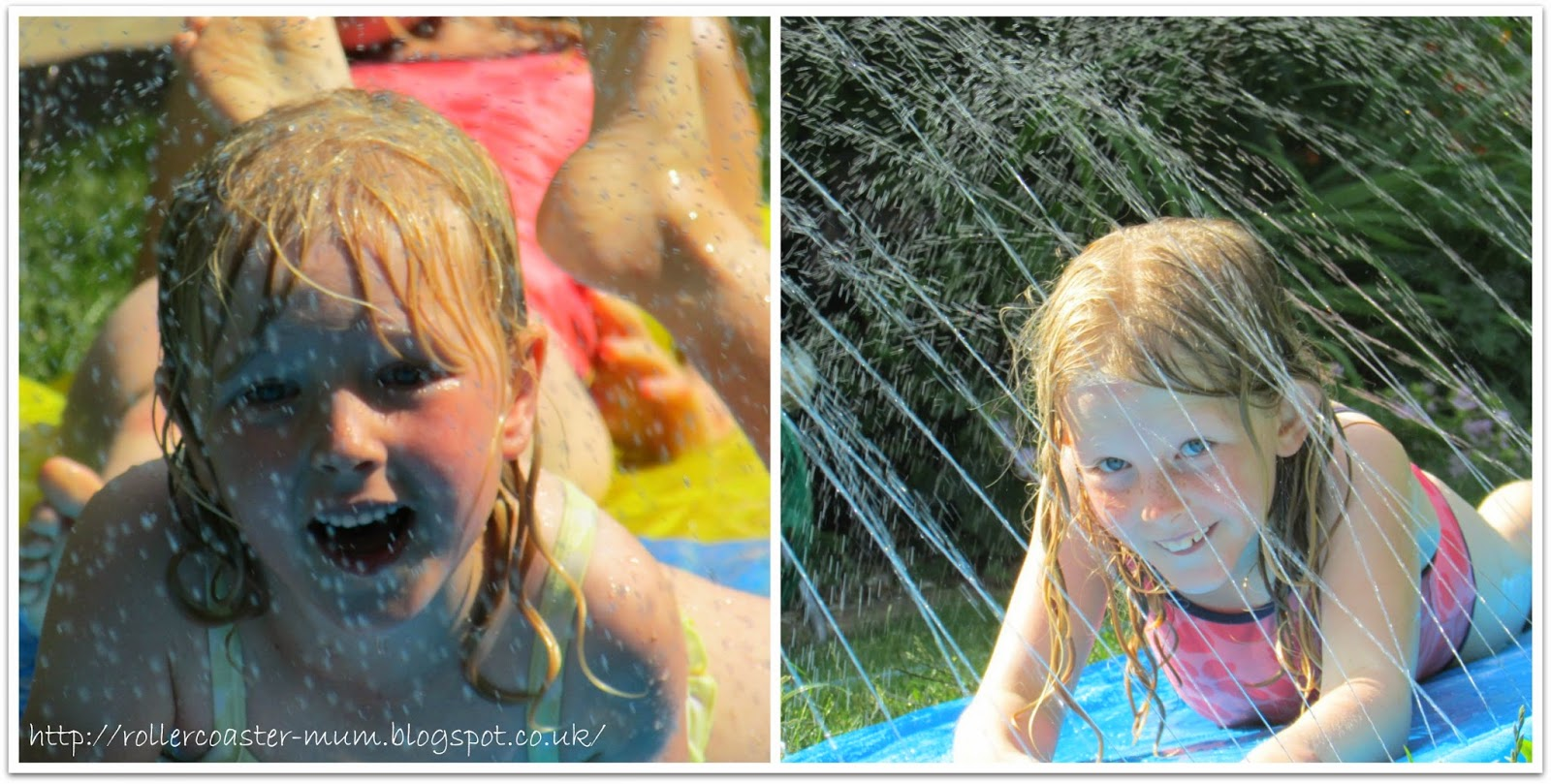 water fun in the garden