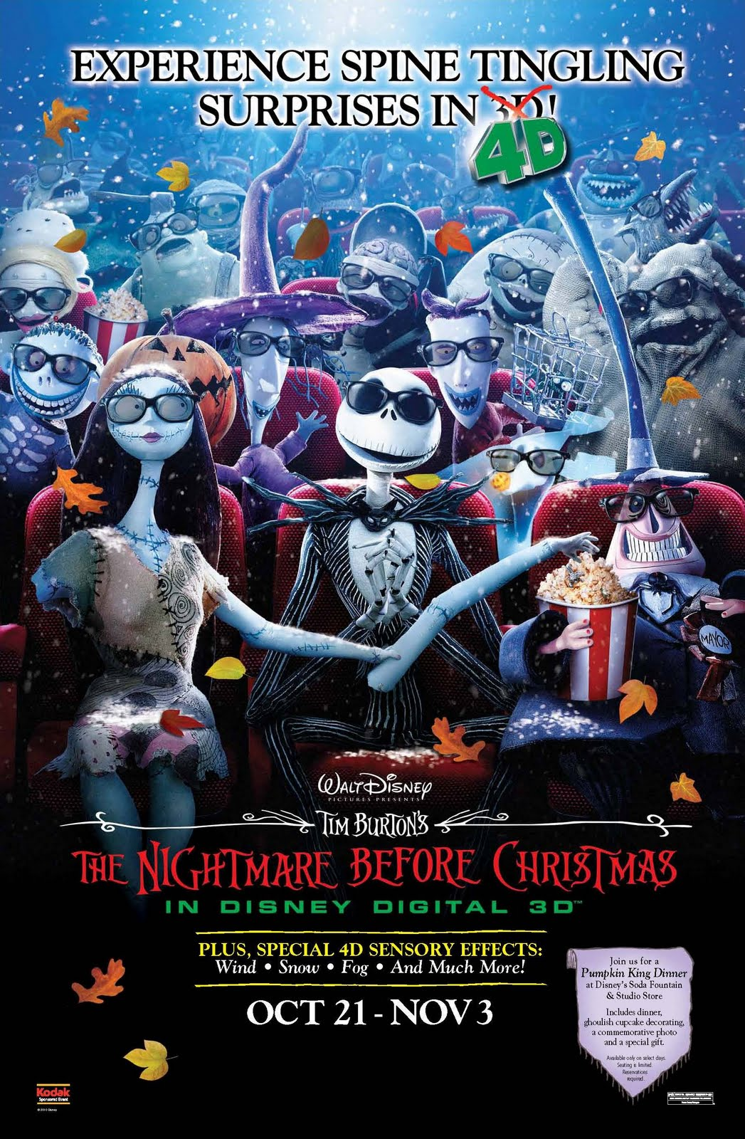 Procrastonaut: The Nightmare Before Christmas in 4D!