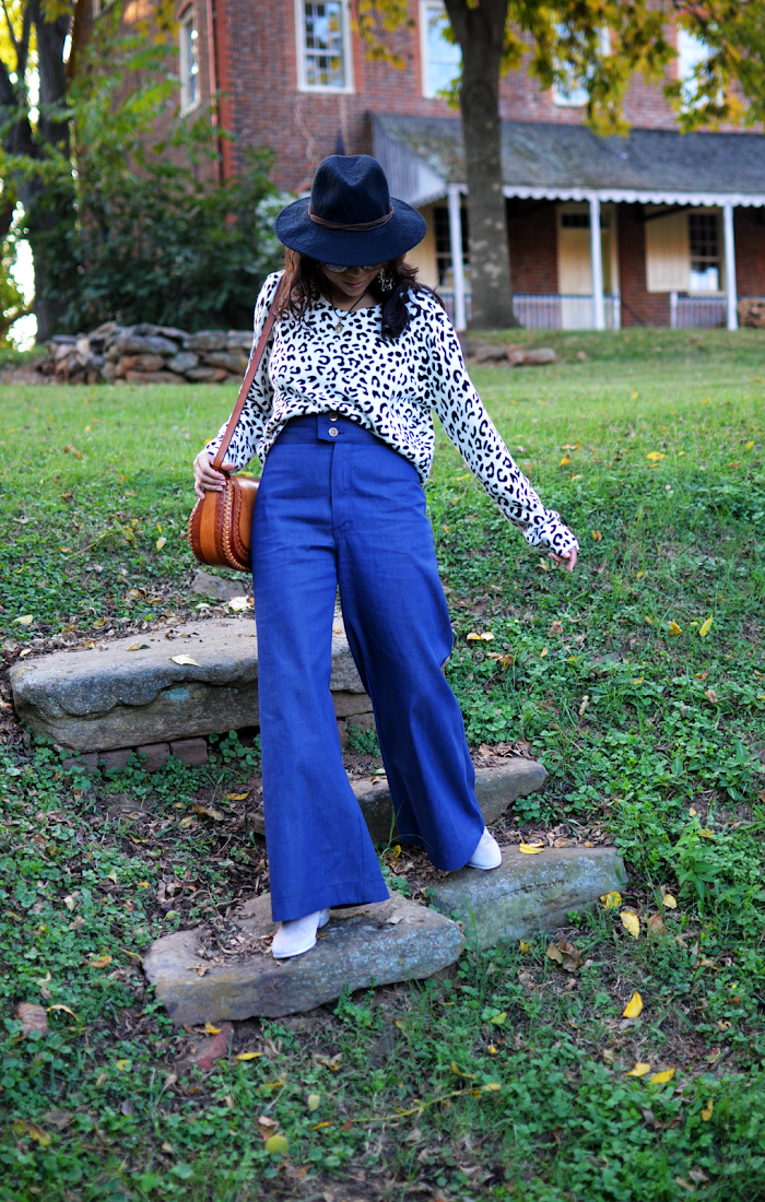 Wide Leg Pants Trend Look