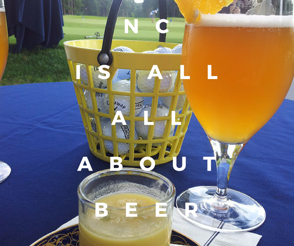 NC Beer Month is held every April