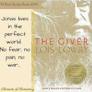 The Giver Book Review | Elements of Elementary