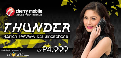 Cherry Mobile Thunder: Specs, Price And Availability In The Philippines