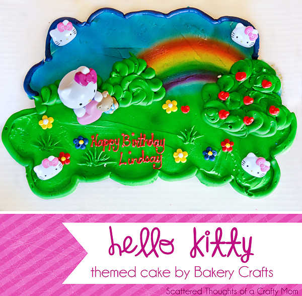Hello Kitty Cake from Bakery Crafts