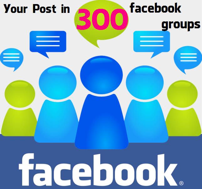 300 Facebook Groups
