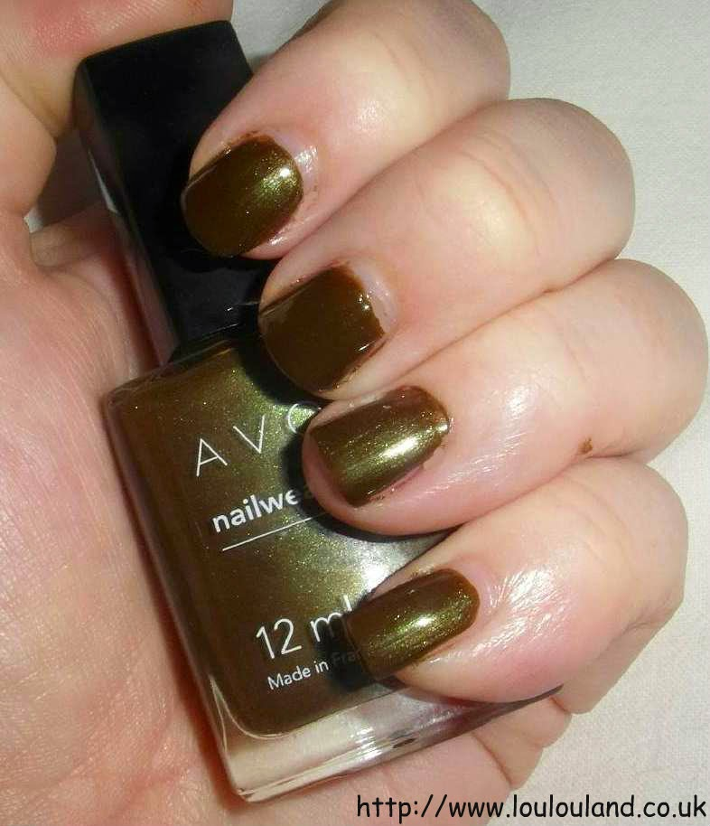 LouLouLand: Muddy, Sludge Nails Of The Day Courtesy Of Avon - All ...
