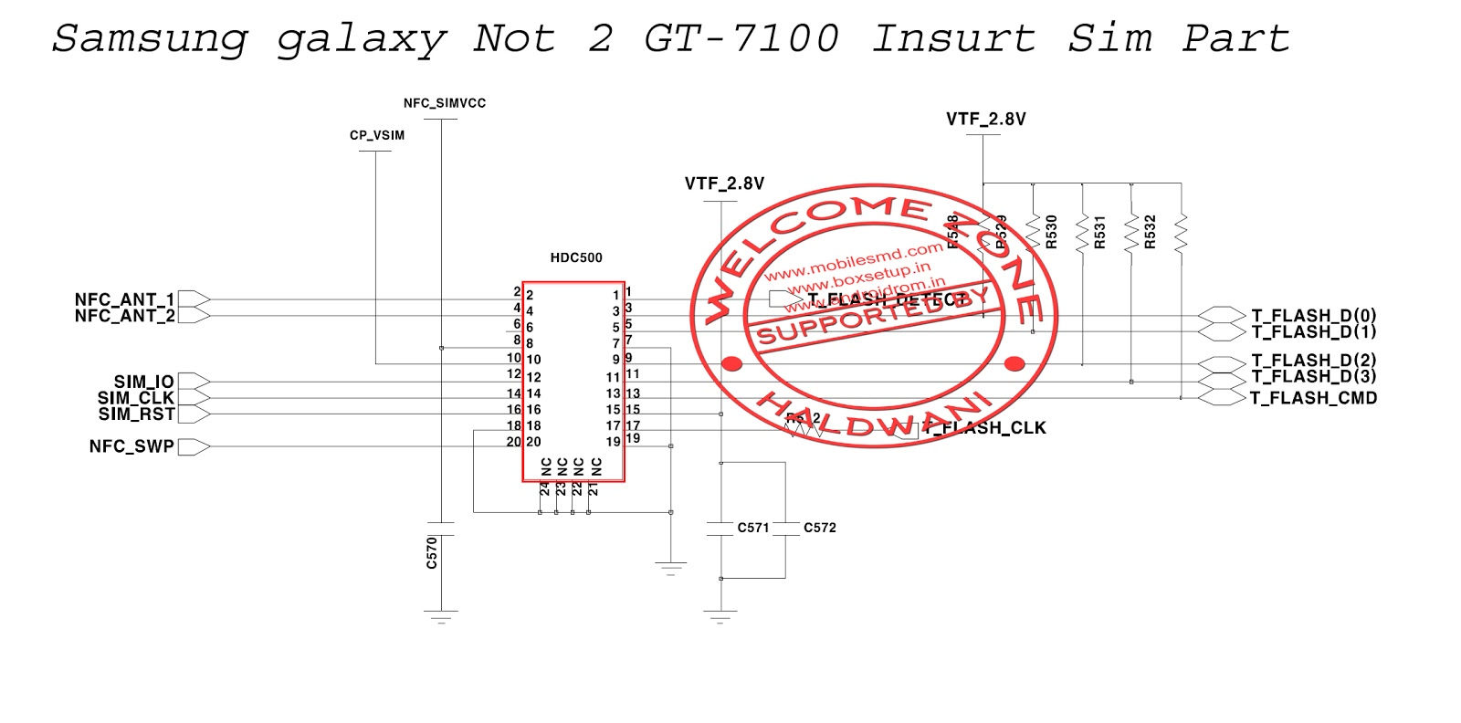 Samsung Galaxy Not 2 Gt