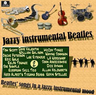 Cd Jazzy Instrumental Beatles - Vol. 2 (2015) Jazzy%2Bv2%2Bfront