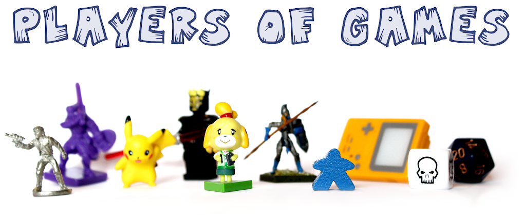 the players of games