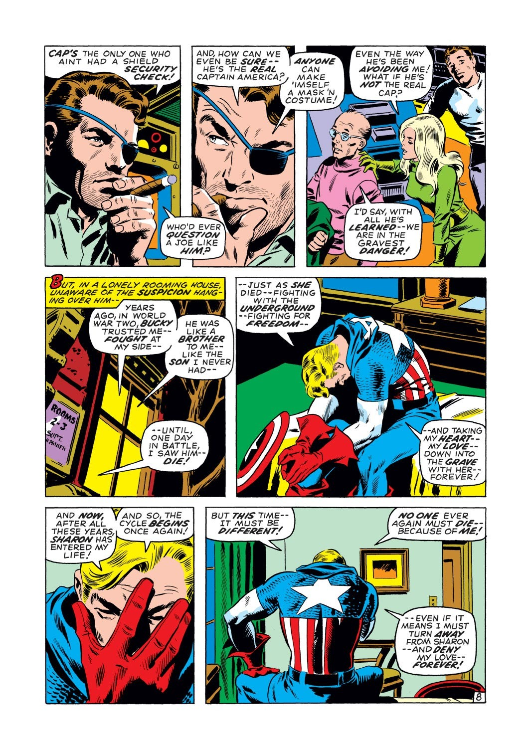 Captain America (1968) Issue #127 #41 - English 9
