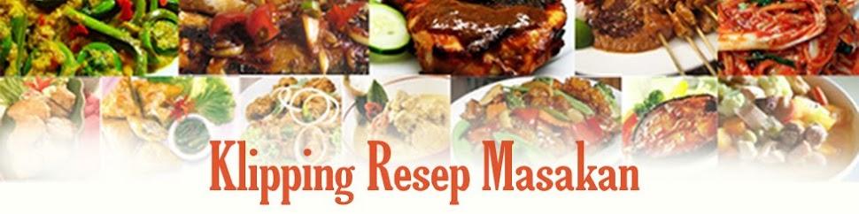 kliping Resep Makanan