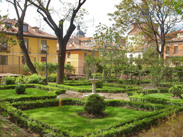 Madrid con arte madrid ins lito el jard n del pr ncipe for El jardin del principe