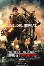Edge of Tomorrow - William Cage & Rita Vrataski  | A Constantly Racing Mind
