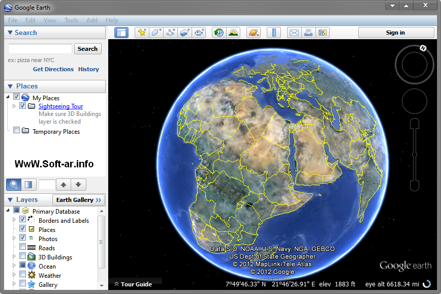 Download Google Earth For Free - High Resolution