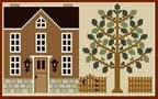Click the brown house to visit the LHN web site!