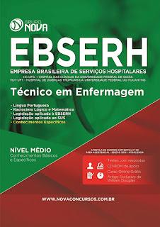 Apostila EBSERH GO 2015 - Técnico de Enfermagem.