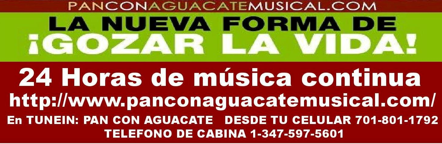 PAN CON AGUACATE MUSICAL