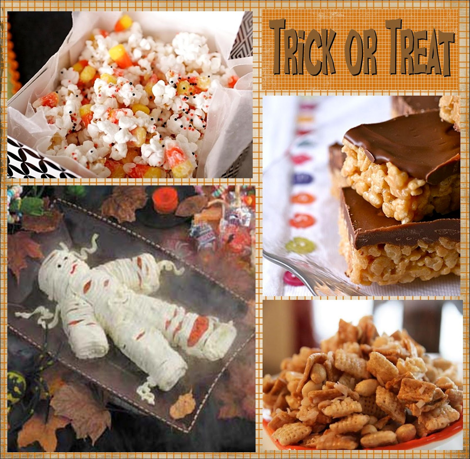 Need a last-minute dessert for a Halloween party? Use boxed brownie mix and your favorite Halloween candies to whip up these festive treats in no time. We love using mini marshmallows, candy corn, and chocolate chips, but a little creativity never hurts—especially when there's candy involved!