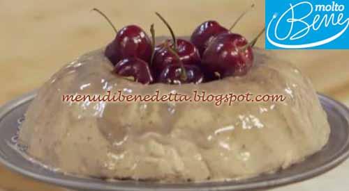 Bavarese alle ciliegie ricetta Parodi per Molto Bene su Real Time