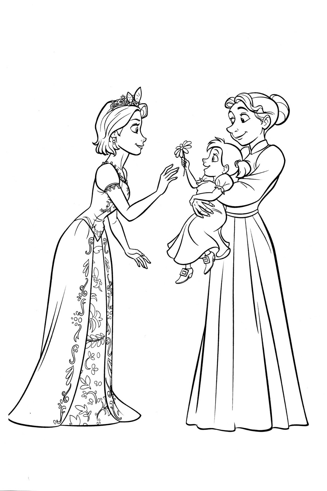 Coloring pictures rapunzel - Free Coloring Pages Rapunzel Rapunzel Free Coloring Pages