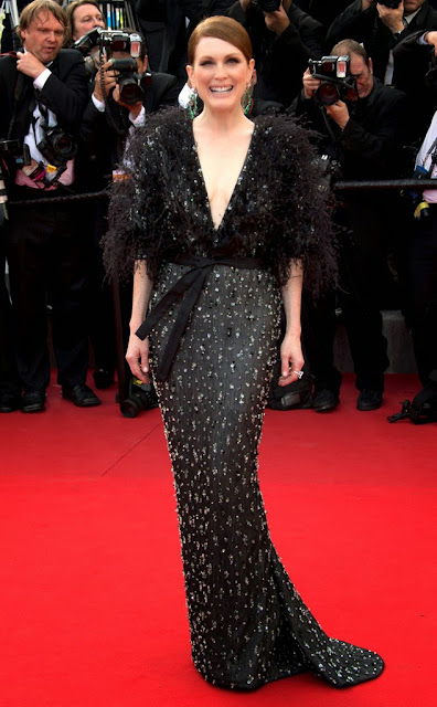68º Festival Filme de Cannes, red carpet - Julianne Moore com um Armani Privé