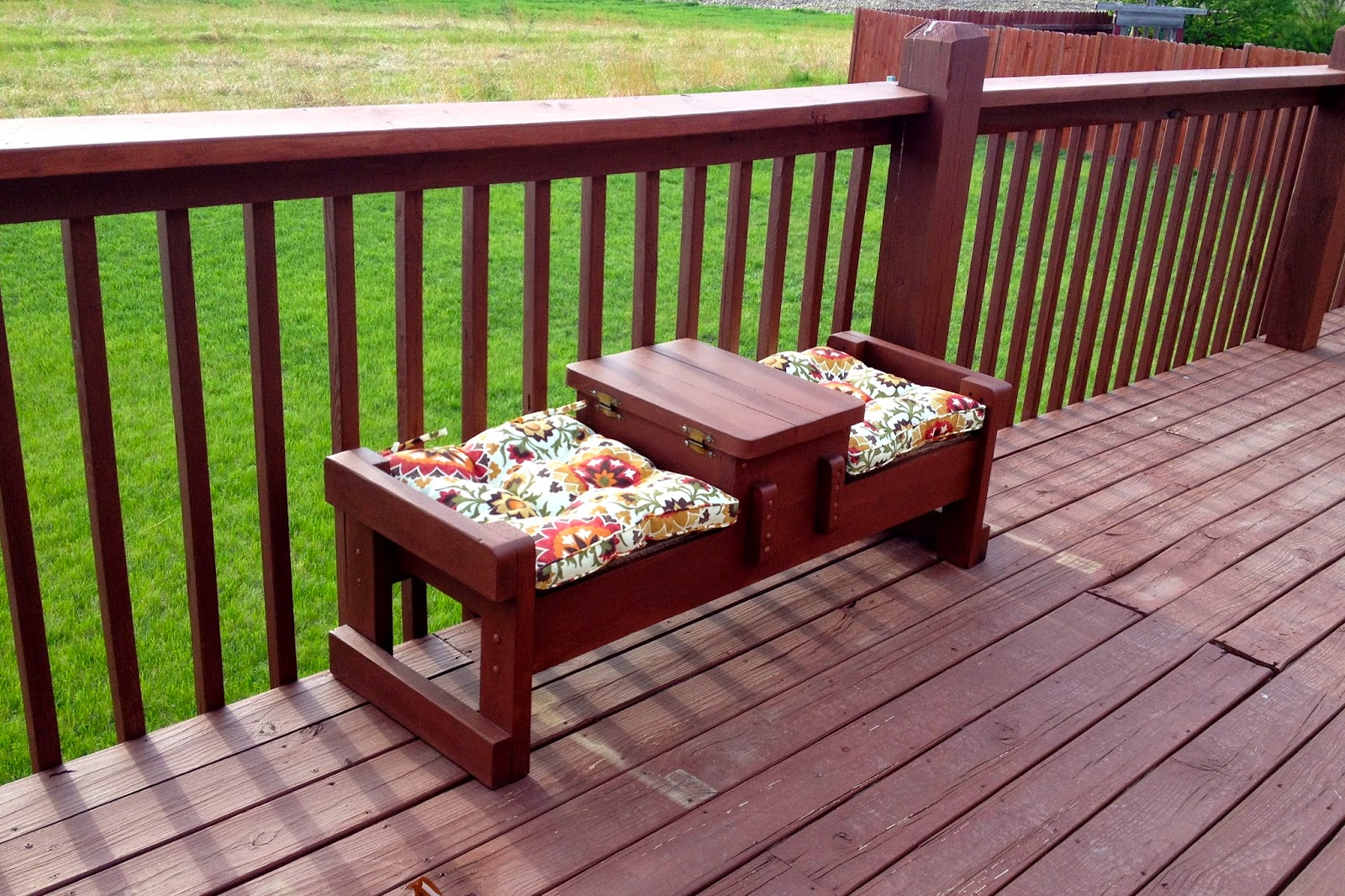 Marvelous photograph of DIY Why Spend More: Outdoor bench redo with #487518 color and 1600x1066 pixels