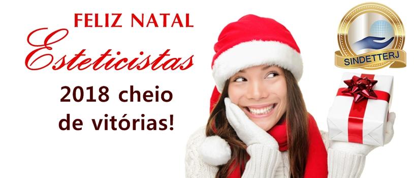 Feliz Natal Esteticistas!