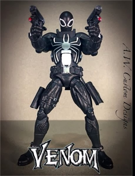 Venom Game Toy : Toycutter flash thompson agent venom action figure