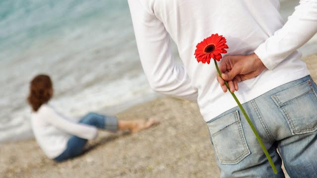 Imagenes de Novios en la Playa en San valentin