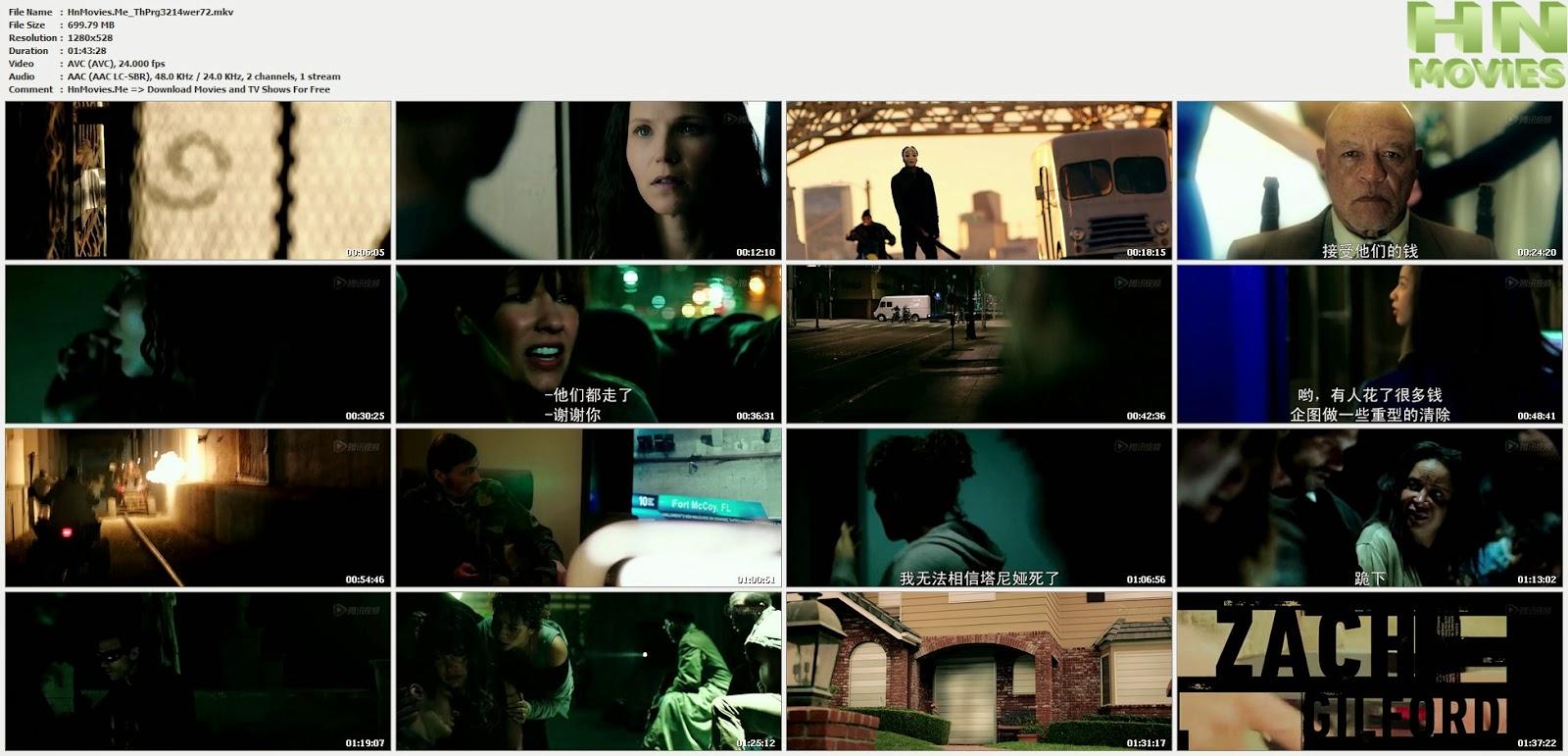 movie screenshot of The Purge: Anarchy fdmovie.com