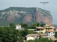 Vistes de la Roca del Migdia des de Can Gaspar