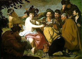 El triunfo de Baco (Los borrachos) - Diego Velázquez