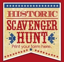 Historic Scavenger Hunt