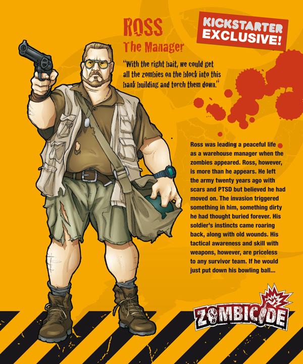 Zombicide personajes ROSS