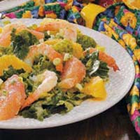 Weight Loss Recipes : Citrus Shrimp Salad