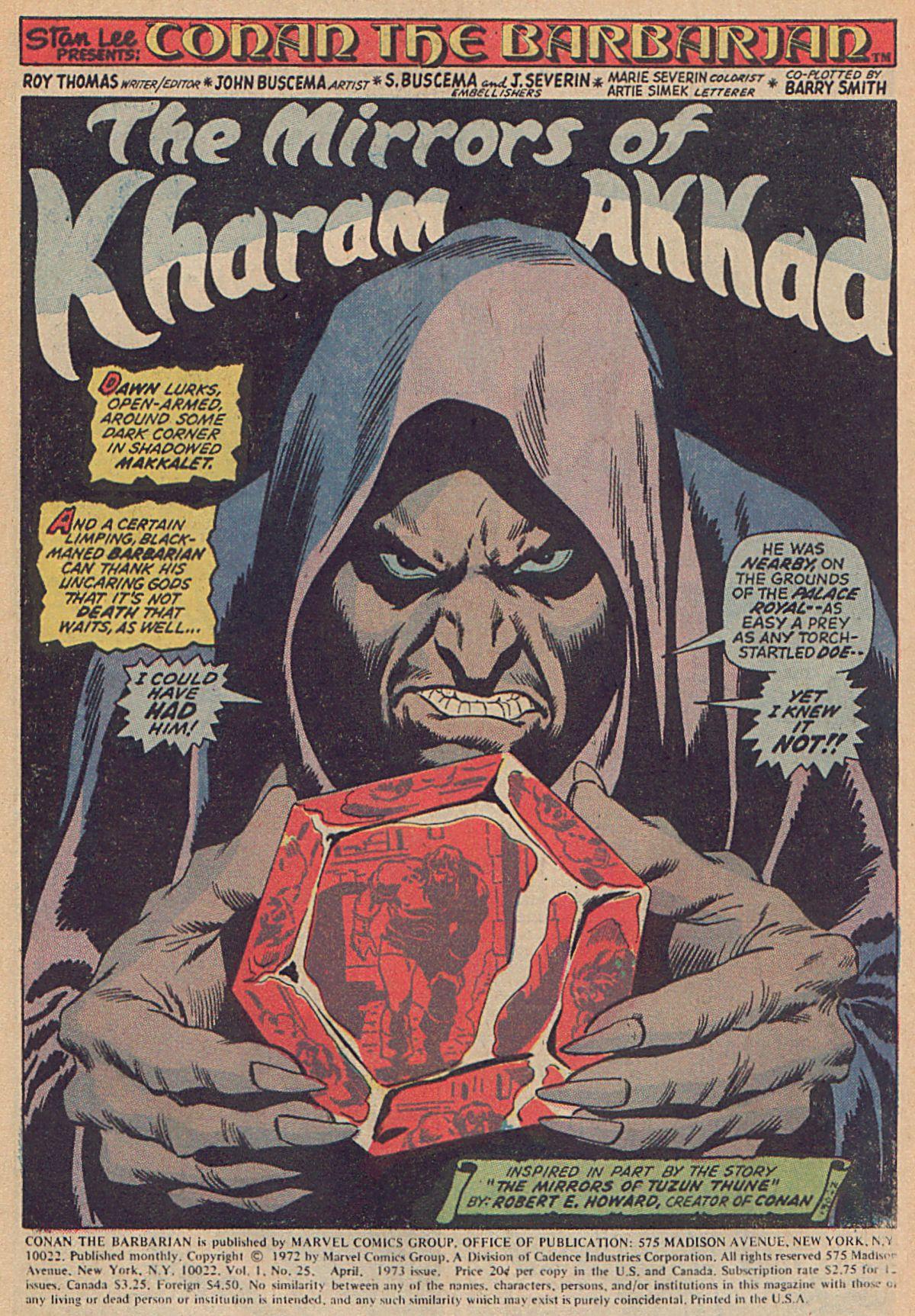 Conan the Barbarian (1970) Issue #25 #37 - English 2
