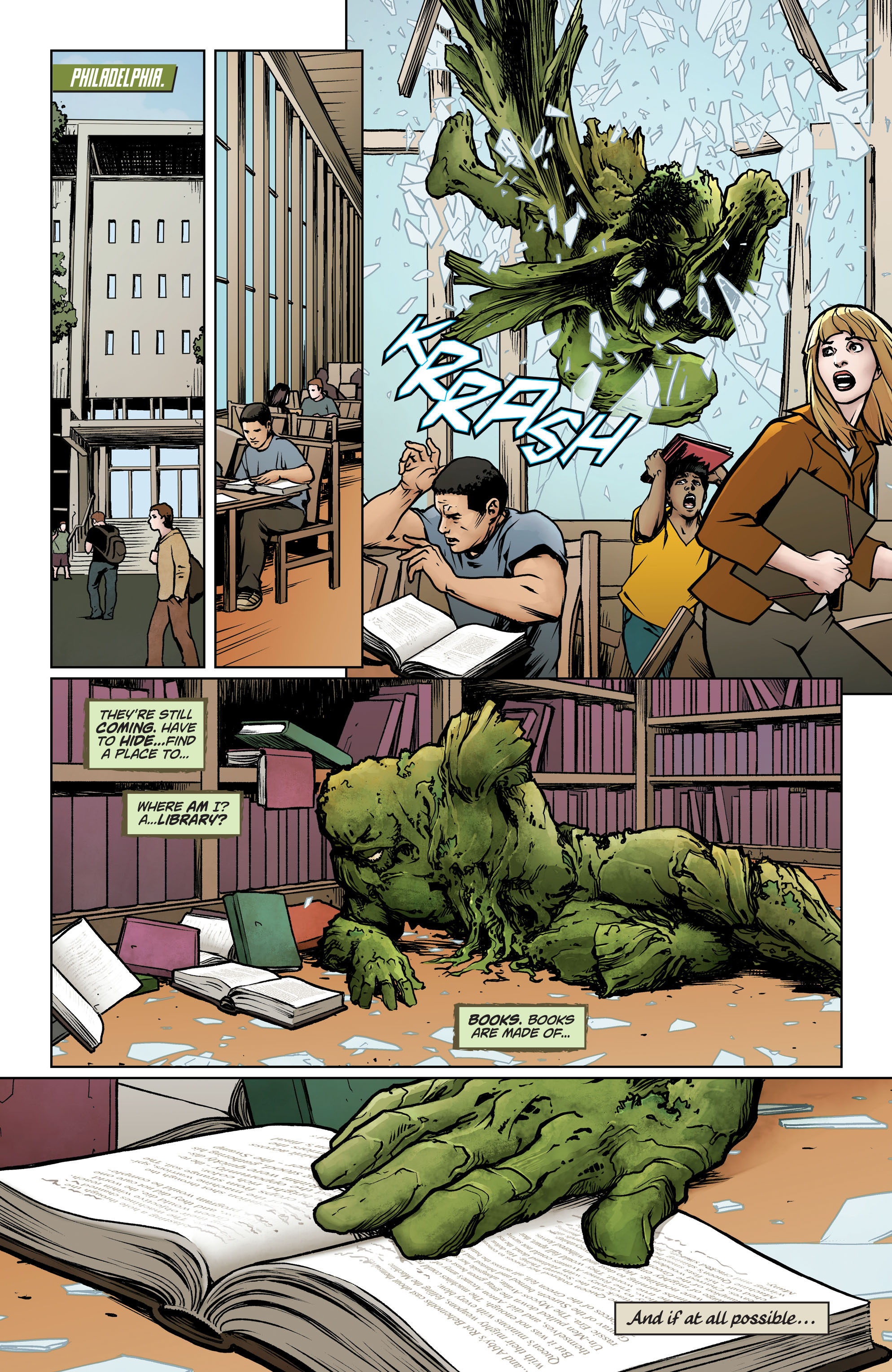 Swamp Thing (2011) Issue #40 #45 - English 15
