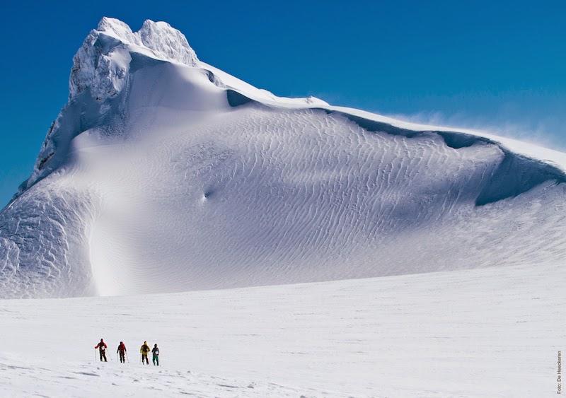 Bosque Nevado, centro de neve da Reserva Biológica Huilo Huilo, no Chile