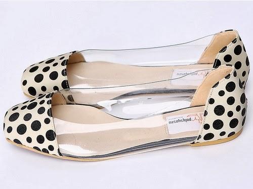 Leopard Tip Toe Flats