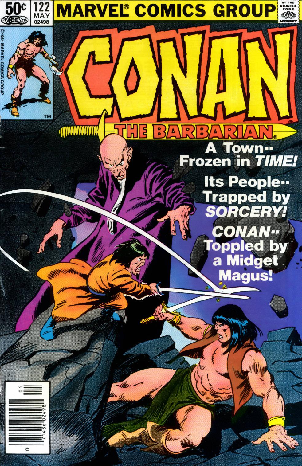 Conan the Barbarian (1970) Issue #122 #134 - English 1