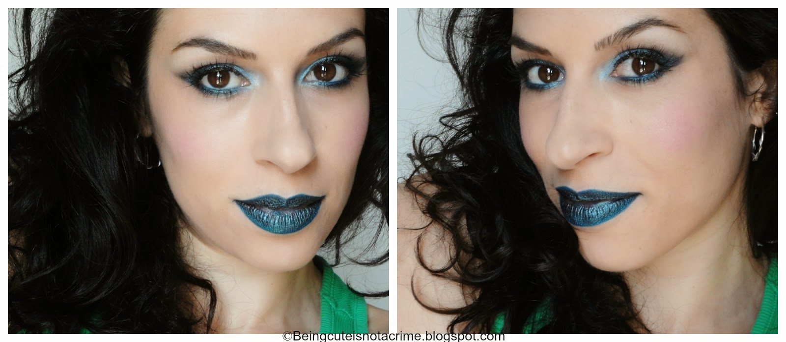 http://beingcuteisnotacrime.blogspot.nl/2014/06/make-up-serie-matchy-matchy-3-bluegreen.html